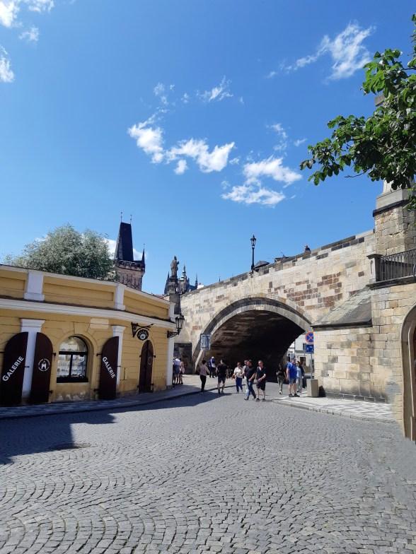Piazza Na Kampé - Praga