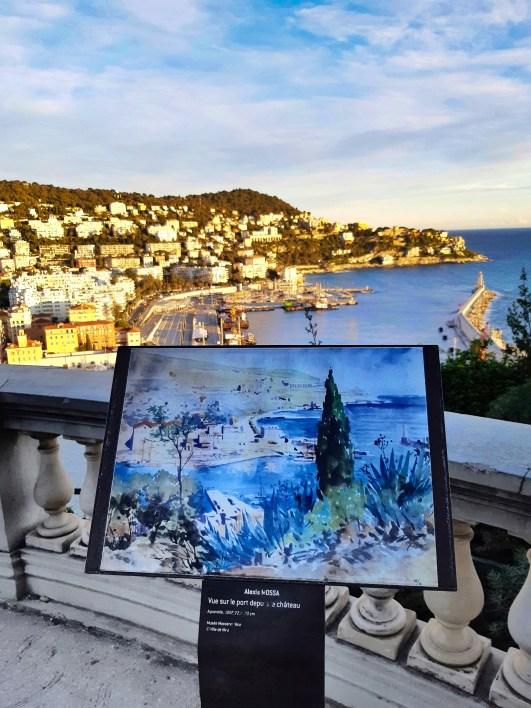 Nizza vista Castello