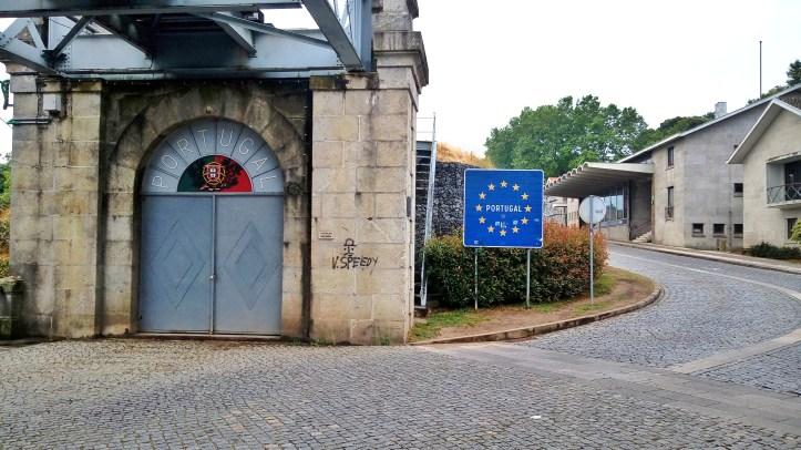 Cammino portoghese l'ultima città del Portogallo
