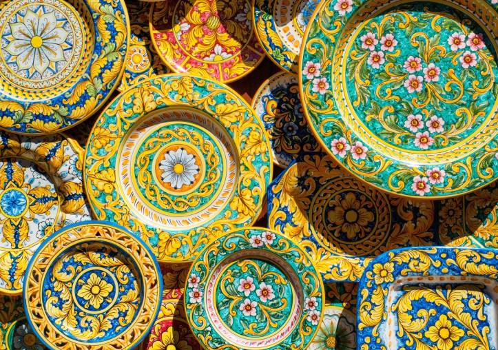 Erice - ceramiche