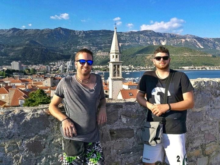 on the road Croazia Montenegro