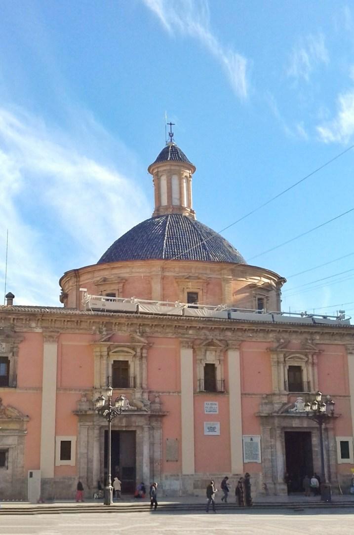 Valencia - centro storico - Basilica della Virgen de los Desamparados