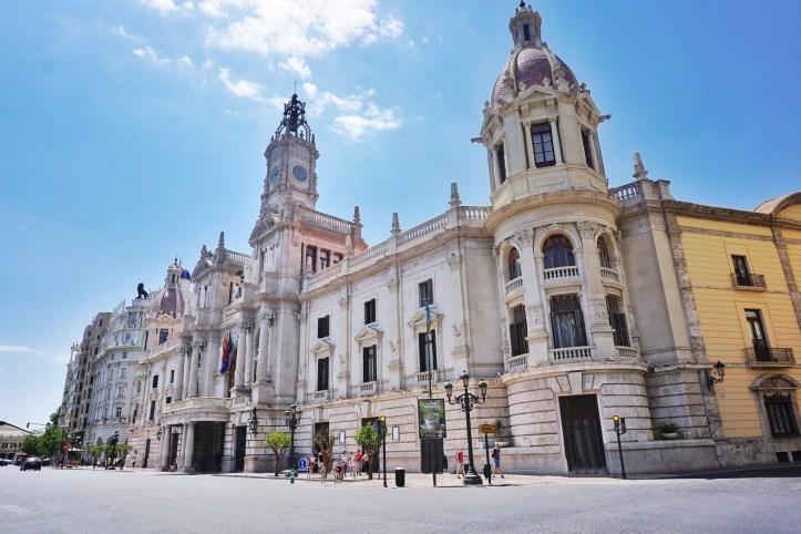 Valencia - centro storico - Municipio