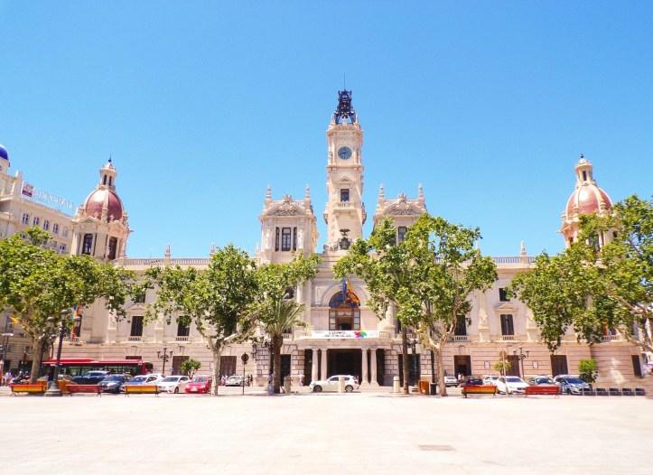 Valencia - centro storico - Palazzo delle Poste