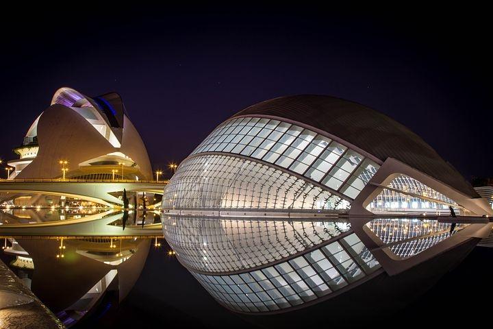 Valencia - Città delle Scienze by night - 2
