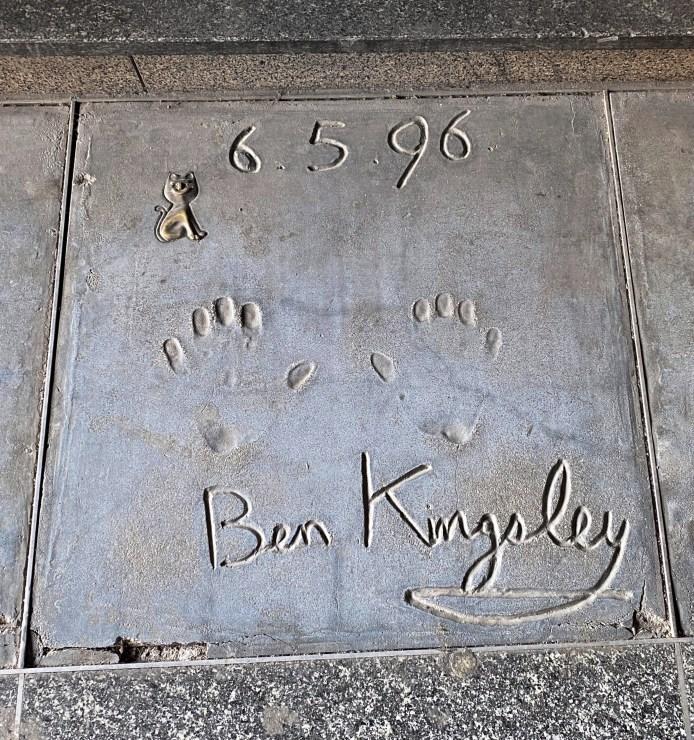 Milano nascosta - Walk of Fame - Ben Kingsley