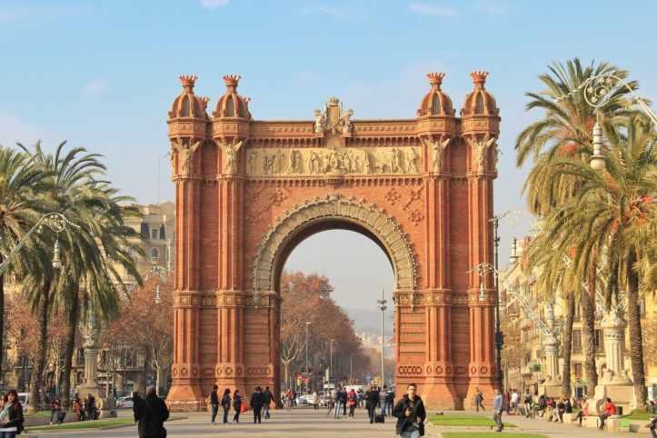 Arco-di-Trionfo-Barcellona