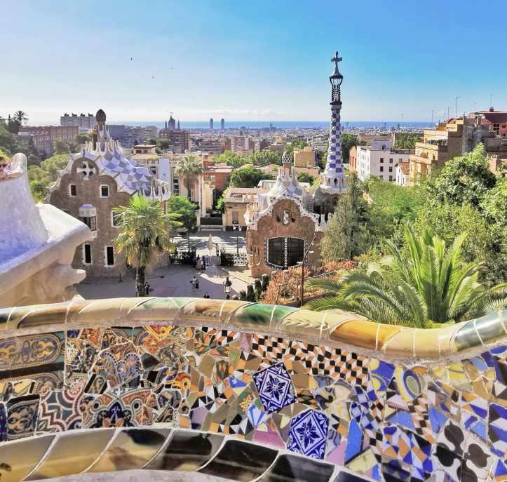Park-Guell-Barcellona-vista