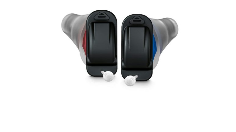 Pair of Signia Silk NX hearing aids