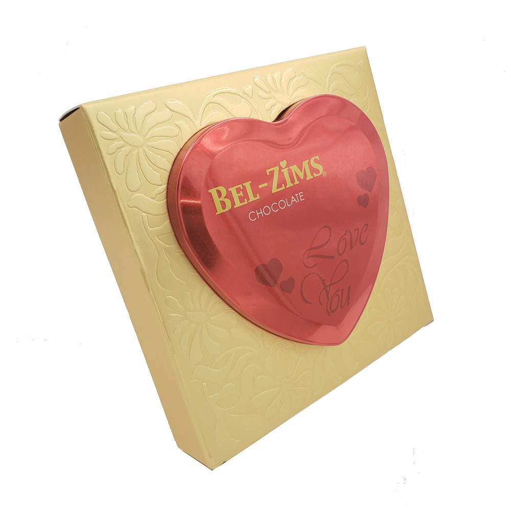 Heart Shape Metal Box