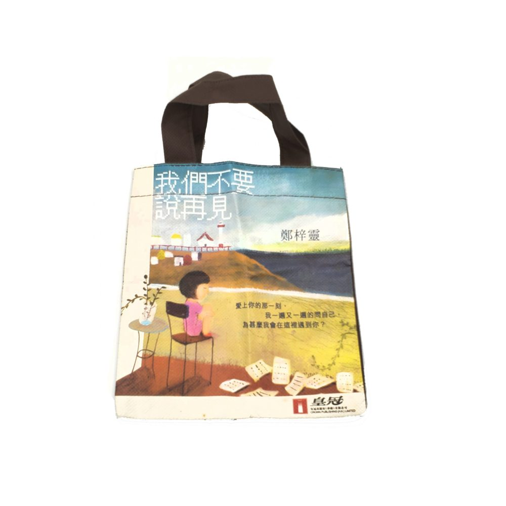 Single Side Coated Non-Woven Simple Carrier Bag