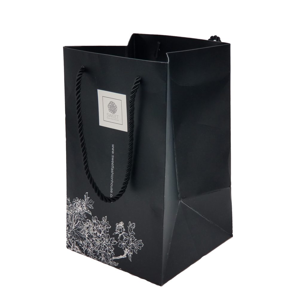 Paper Carrier Bag with PP Cord