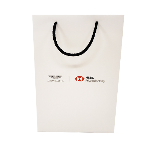 Paper Carrier Bag with Cotton Cord