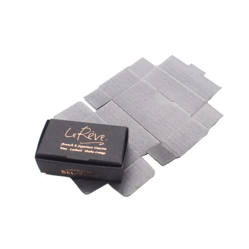 Small Chocolate Piece Folding Box