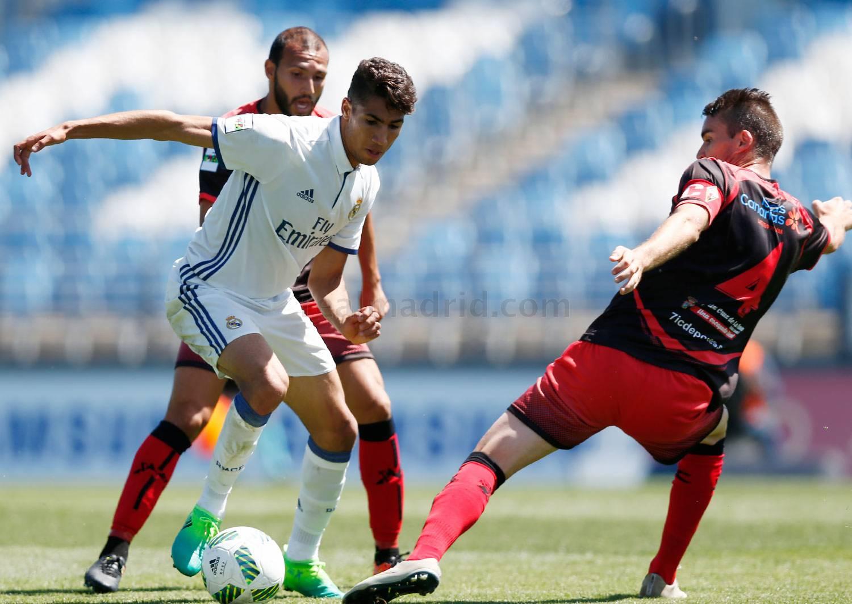 Real Madrid Castilla 0-1 Mensajero