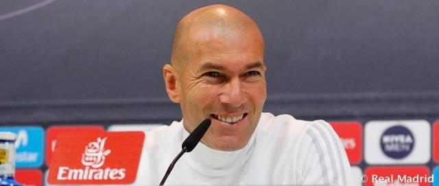 Rueda de prensa de Zidane-Previa jornada 28