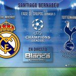 Live Real Madrid-Tottenham | Jornada 03 UEFA Champions League