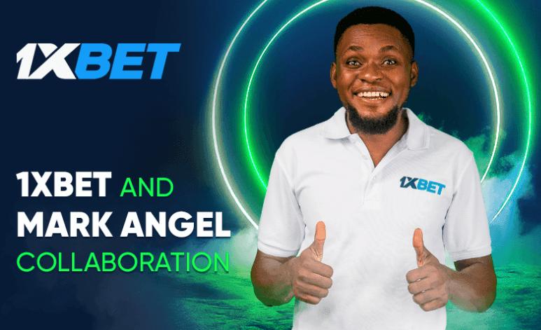 Mark Angel is the Newest 1xBet Ambassador in Nigeria