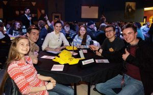 Quiz Knight People at Table