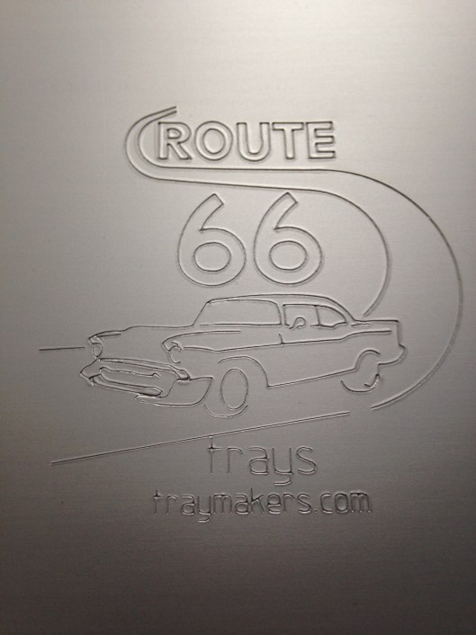 route 66 trays stamp