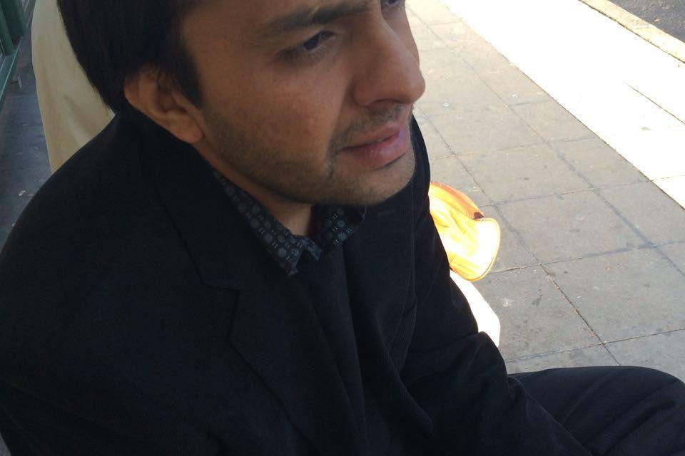 Be my guest # 103: Zulmay Afzali, dagen före Julafton 2014