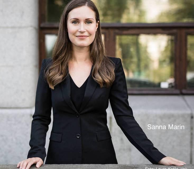 """Finland. Statsminister Sanna Marins slutord i tal till riksdagen: """"Som nation har vi klarat av många prövningar under historiens gång. Vi kommer att klara av den här också."""""""