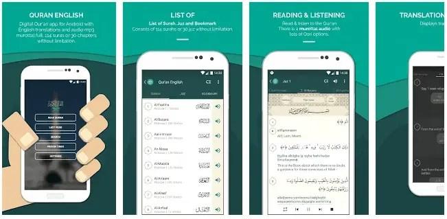 Quran English app