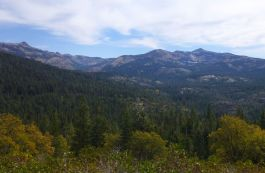 Backside of Squaw Valley and the Granite Chief Wilderness Area
