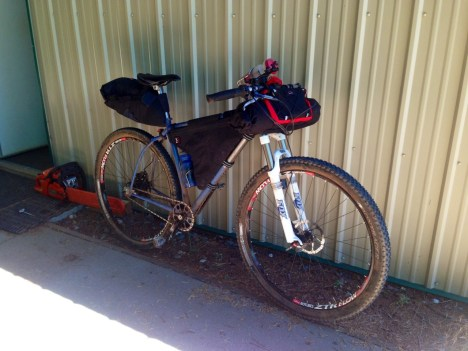 Bikepacking rig