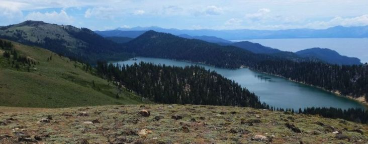 Marlette Lake from the TRT