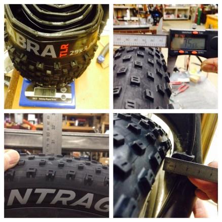 Tire widths on a 41mm rim