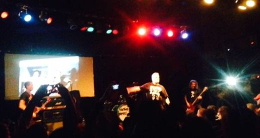 Jello Biafra joined in for a couple of DK tunes.