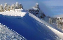 Castle Peak, north chutes