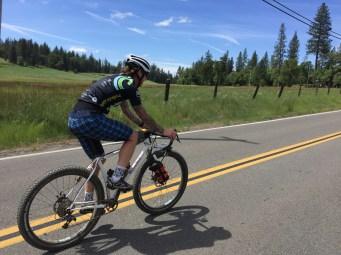 Chris riding his 29+
