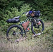 Eric's Rohloff touring 29+ with his own Randi Jo bags