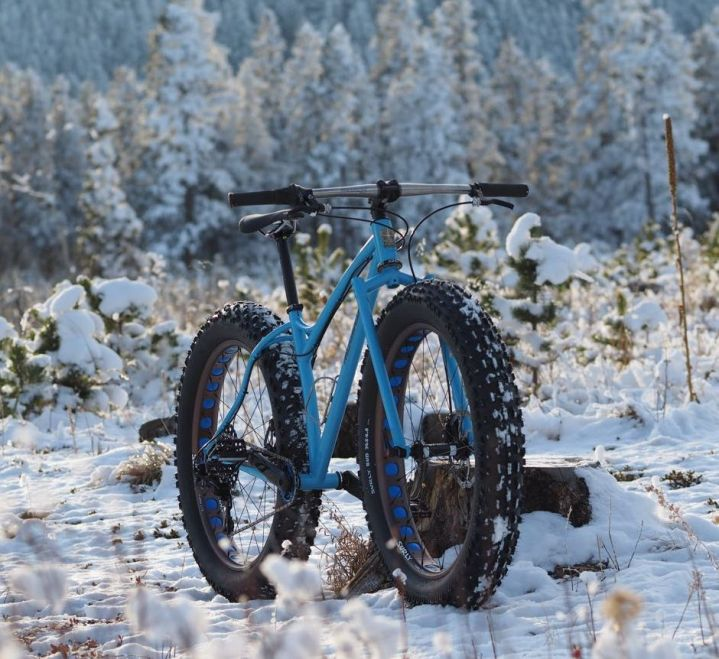 LP's fatbike in Nederland, CO