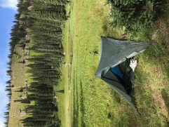 My Tarptent at Bolam Pass