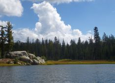 Sand Ridge Lake, HITG trail