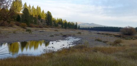 Prosser Creek dried out