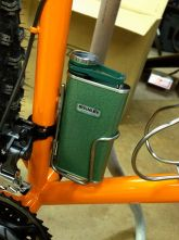 Flask for Steel*Wool rides and warming up on the trail