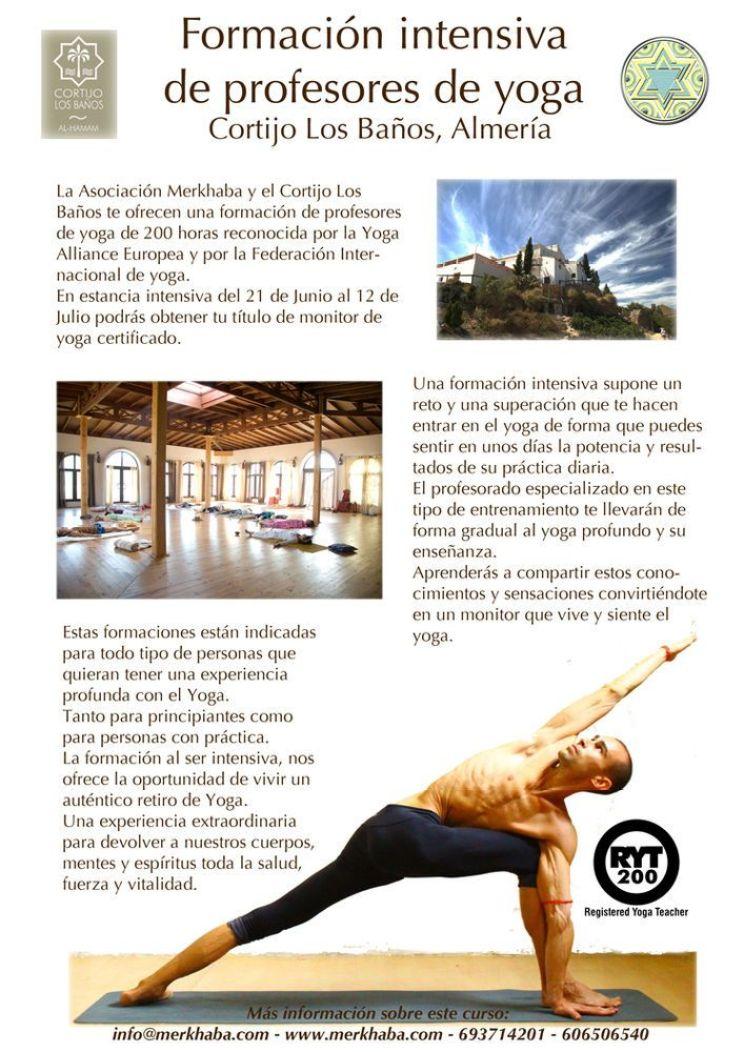 Formacion profesores yoga Cortijo 2013