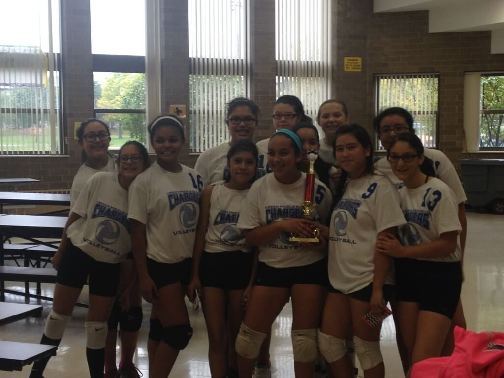 LMS Girls Volleyball