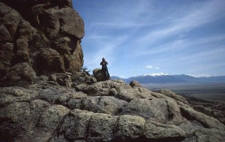 Lee B. Waian   Wandering on the Rocks in Ennis MT