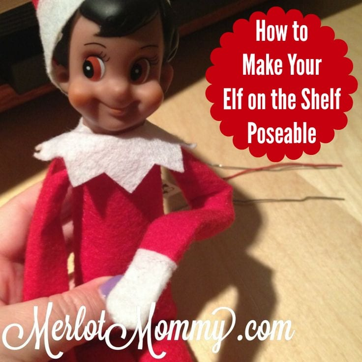 How to Make Your Elf on the Shelf Poseable