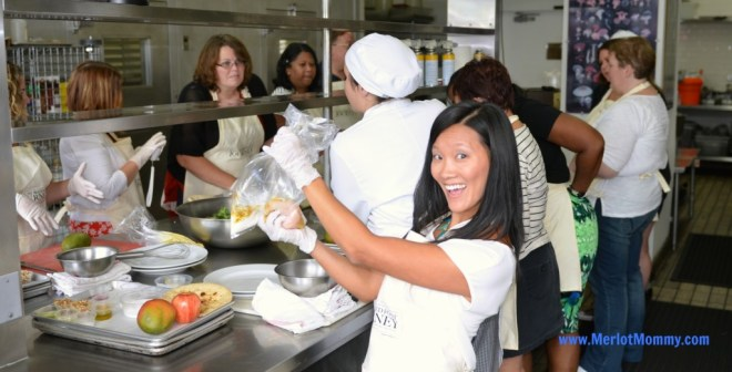Cooking at Le Cordon Bleu in Los Angeles