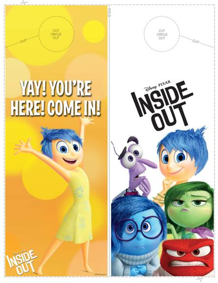 New INSIDE OUT DIY, Crafts, Activity Sheets, and Coloring Pages Available #PixarInsideOut