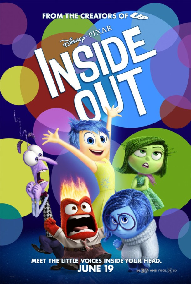 New INSIDE OUT Poster Available #PixarInsideOut