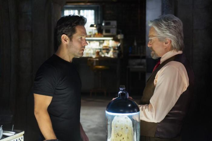 EXCLUSIVE: Michael Douglas Talks Being Hank Pym in Ant-Man #AntManEvent