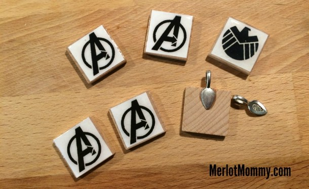 DIY Scrabble Tile Necklace Pendants #AvengersEvent #AgentsofSHIELD #ABCTVEvent