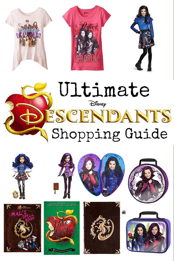 Ultimate Disney Descendants Shopping Guide